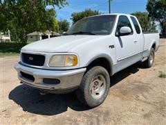 1997 Ford F150XLT 4x4 Extended Cab 3 Door Pickup