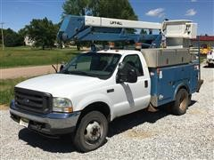 2002 Ford F-550 Service Pickup
