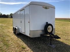 2010 H&H XL Series T/A Enclosed Trailer