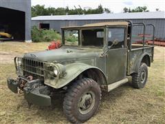 1953 Dodge M37 4x4 Military Cargo Truck