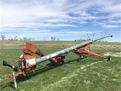 """Mayrath 10""""X72' PTO Driven Swing Away Auger"""