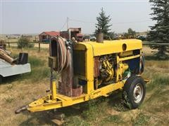 Lincoln Electric SAE-300 Portable Welder W/Detroit Engine