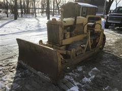 Allis-Chalmers M Crawler Tractor W/Dozer Blade