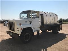 1976 Ford 800 S/A Flatbed Water Truck