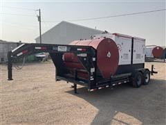 2013 Load Trail MMG185 185 KW Generator & T/A Trailer
