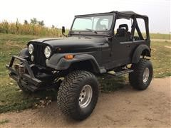 1984 Jeep CJ7 SUV