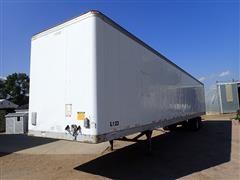 """1998 Fruehauf 53'X102"""" T/A Dry Van Trailer"""