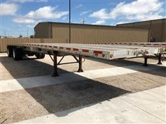 2007 Wilson ACF-300 T/A Aluminum Flatbed Trailer