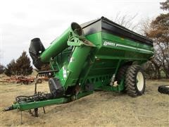 2013 Brent 1196 Grain Cart W/Walking Beam Axles