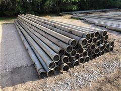 """6"""" Gated Aluminum Irrigation Pipe"""