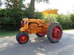 1952 Minneapolis-Moline RTU Antique 2WD Tractor
