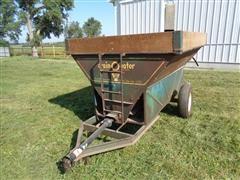 grain-O-vator Series 10 Self Unloading 70 Bushel Auger Feeder Wagon