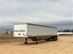 1986 Timpte Super Hopper T/A Hopper Bottom Grain Trailer