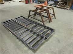 Loading Ramps & Shop Built Ramp Stands
