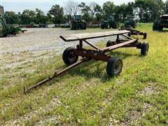 Homemade 17' Header Trailer