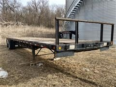 1992 Transcraft 48' T/A Flatbed Trailer