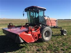 2002 Case IH WDX1701 Self Propelled Disk Windrower