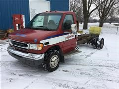 2000 Ford E450 Cutaway Van Chassis