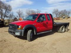 2006 Ford F-450 XL-Super Duty 4x4 Flatbed