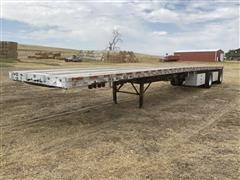 1998 Wilson T/A 48' Flatbed Trailer
