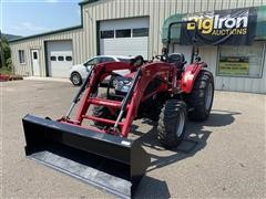 2016 Mahindra 3540 PST 4WD Compact Utility Tractor W/Loader