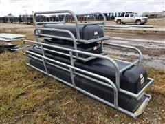 Behlen Galvanized Steel Feed Bunks W/Poly Liner