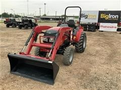 2015 Mahindra 15384FHIL Compact Utility Tractor W/Loader