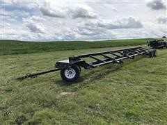 Maurer 38 Header Trailer