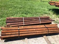 8' Steel Fence Posts