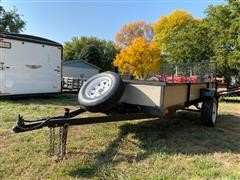 1997 Shop Built S/A Utility Trailer