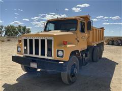 1983 International F2554 T/A Dump Truck