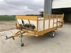 Utility Trailer W/Electric Conveyor & Gate