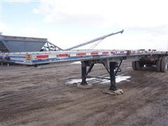 "1989 East 50'6"" x 96"" Aluminum T/A Flatbed Trailer"