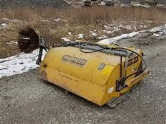 Sweepster HB60 Skidsteer Broom W/Bucket