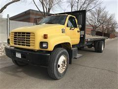 1998 GMC C6500 Flatbed Truck