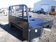 CM 8.5' Steel Flatbed For Dually Pickup