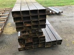 "6X4x3/16""X5'4"" Steel Tubing"