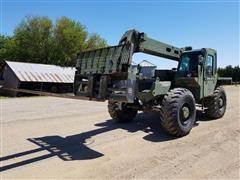1990 Lull (U.S. Military) 10K 4x4x4 Telehandler