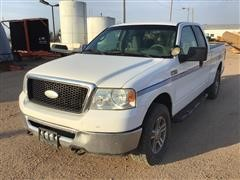 2007 Ford F150 4x4 Ext Cab Pickup