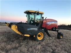 2015 New Holland SR160 Swather