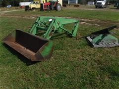 John Deere 148 Tractor Mounted Loader