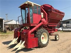 1964 Farmall 416 Basket Cotton Picker