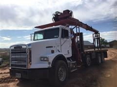 1992 Freightliner FLD120 Quad/A IMT Knuckle Boom Truck