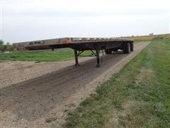 "2000 Transcraft Eagle T/A Spread 48'X102"" Flatbed Trailer"