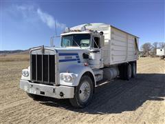 1975 Kenworth W900A T/A Grain Truck