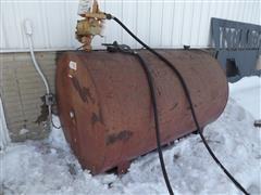 Kay 500 Gallon Fuel Tank & Electric Transfer Pump