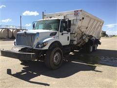 2009 International 7400 SBA 6X4 Workstar Feed Truck