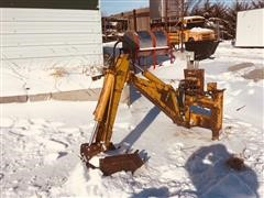 Davis D-100-A Backhoe Attachment