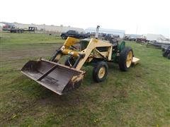 John Deere 1010 2WD Tractor W/Loader & Shredder