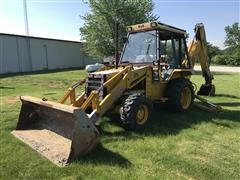 JCB 1550B Loader Backhoe